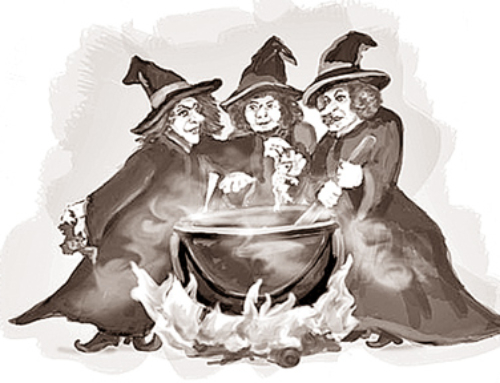 Double, double, toil and trouble …